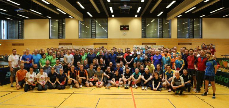 79 Teams machen beim 2. Teamfact Firmencup den Tag der Arbeit zum Tag des Sports!